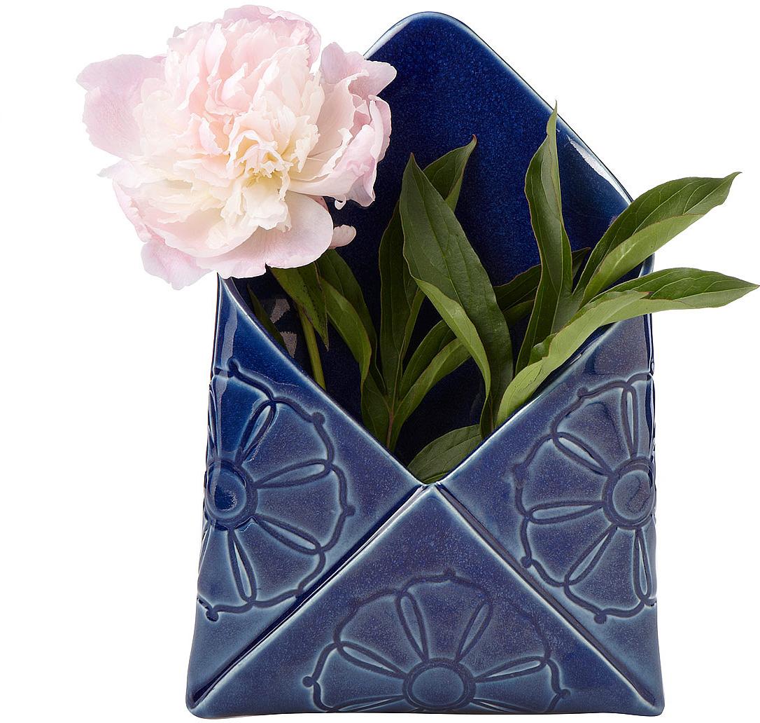 Envelope Wall Vase | vase, office organizer | UncommonGoods