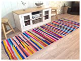 Hand Woven Multi Chindi Rug for