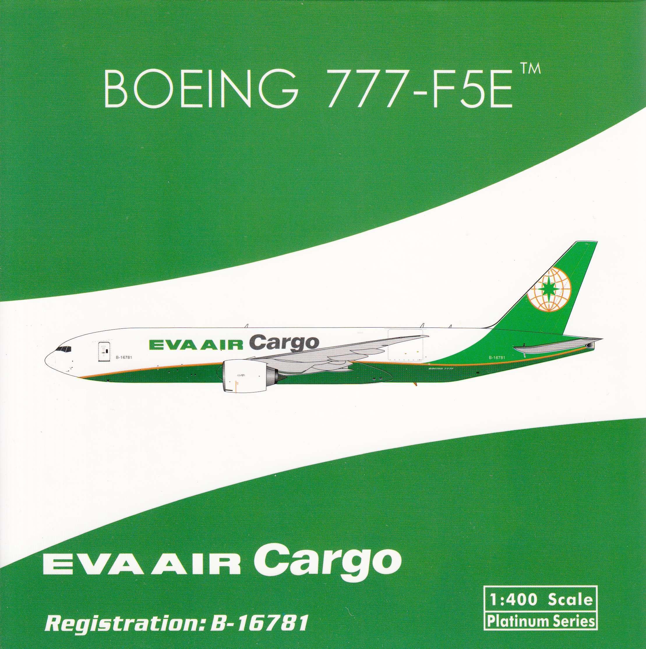 Phoenix Model PHX100 10:10 Eva Air Cargo Boeing 10-F10E Reg #B