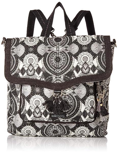 3f6c386b1 Sakroots Colette Convertible Backpack, Black/White Wanderlust ...