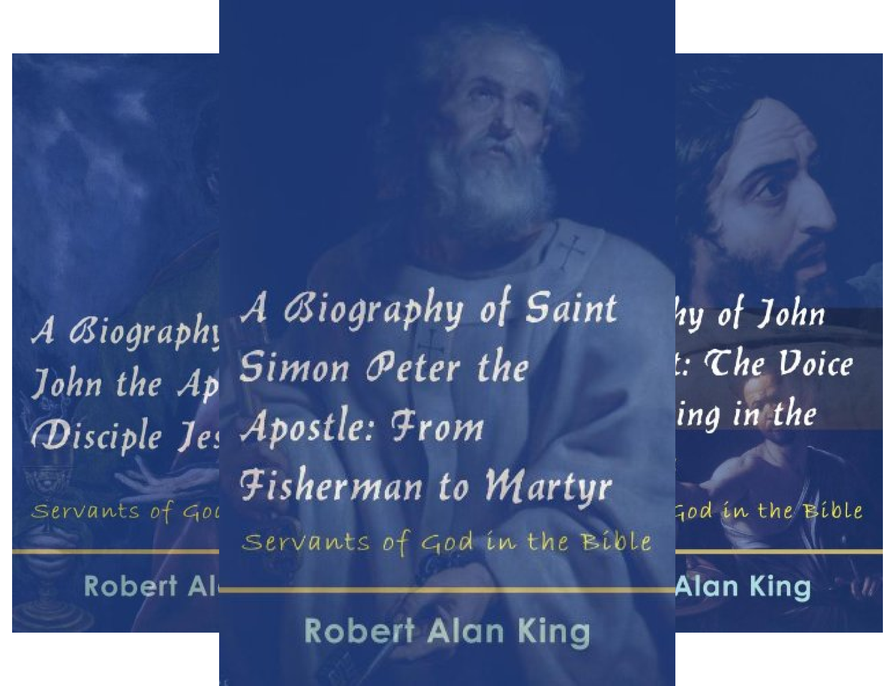 Servants of God in the Bible (4 Book Series)