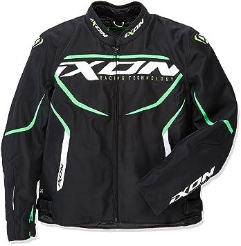 Ixon - Chaqueta de moto para Sprinter, negro/verde, talla XXL: Amazon.es: Coche y moto