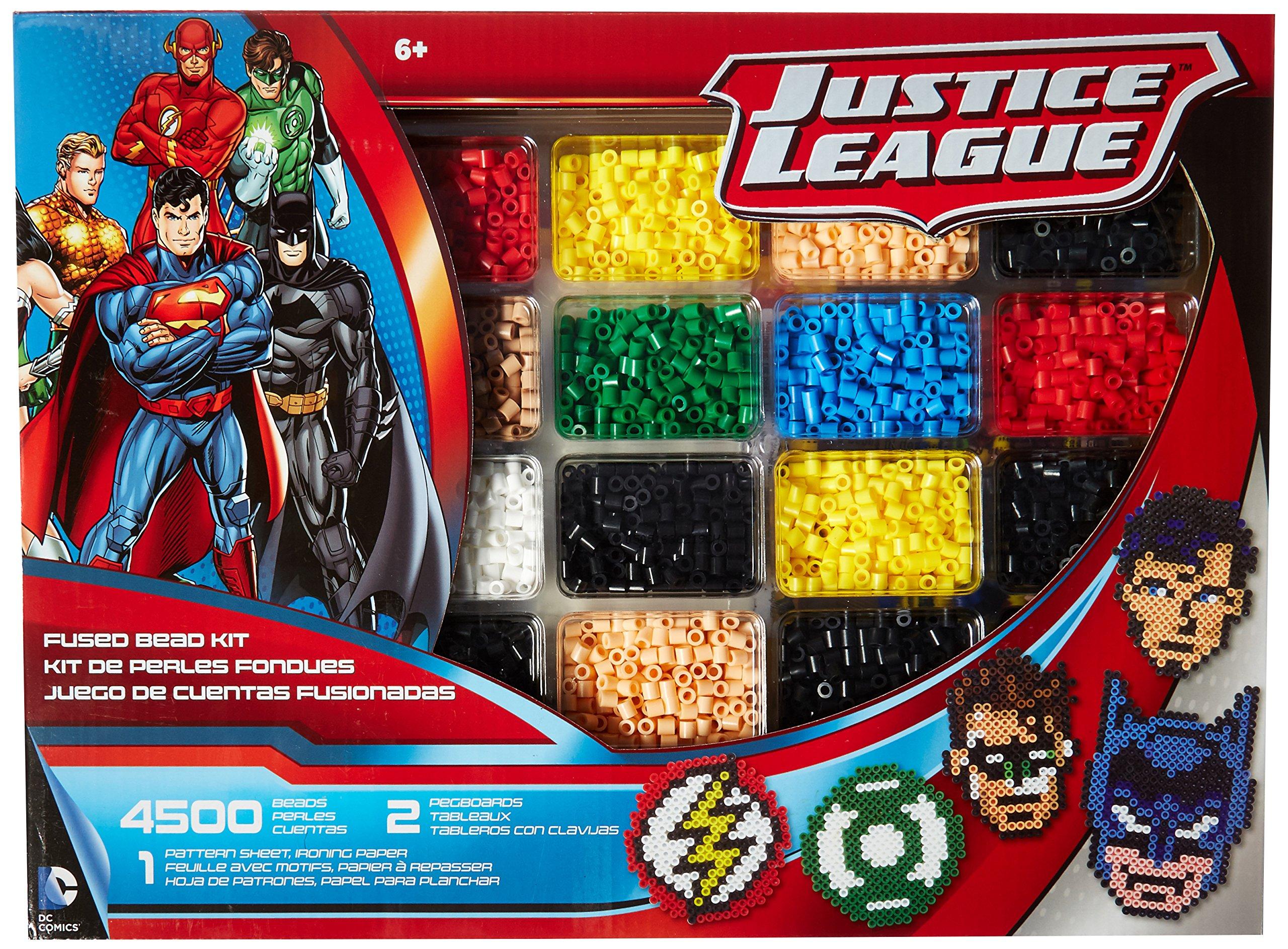 Perler Beads Justice League Superhero Crafts for Kids, 4504 pcs