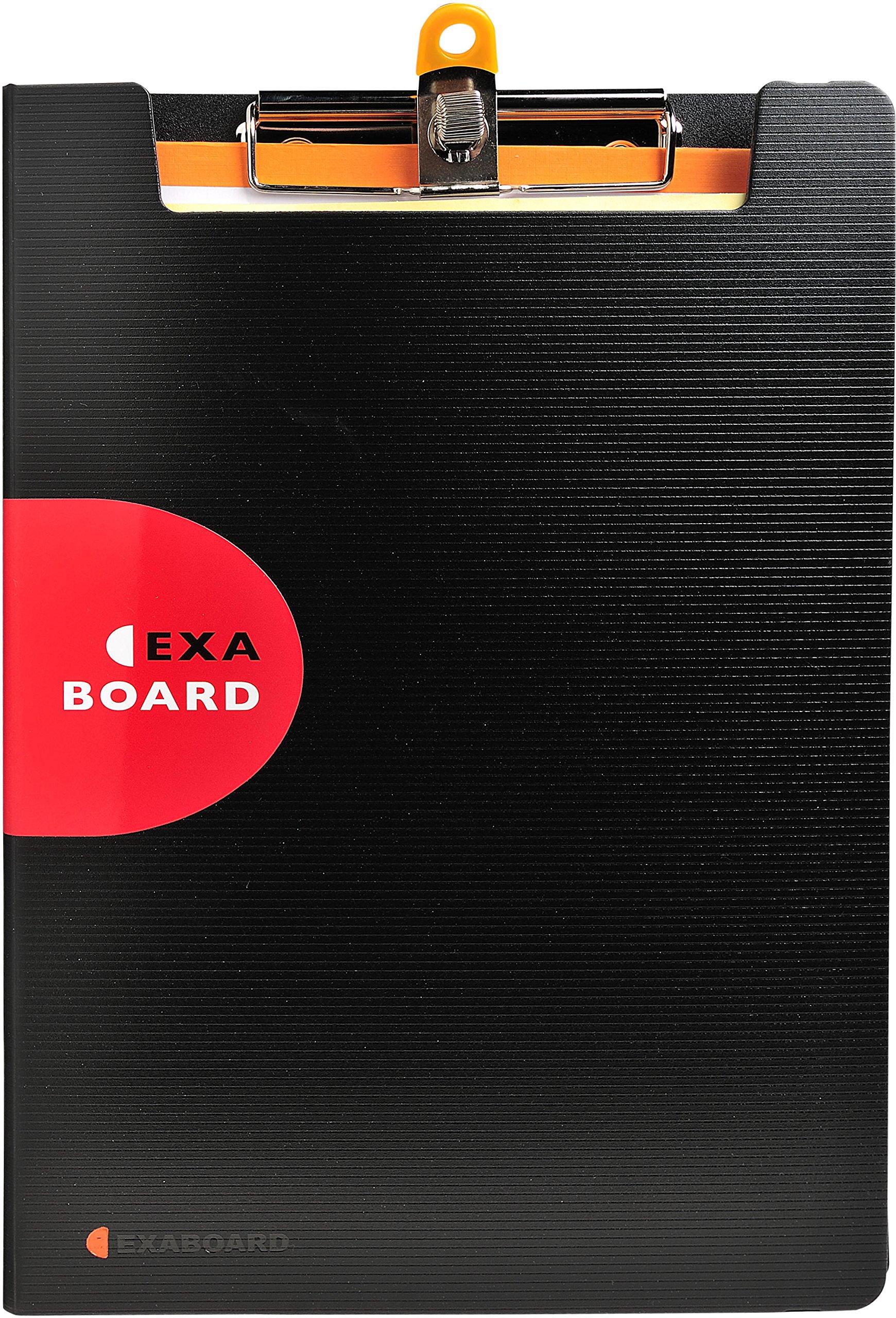 Exacompta Exactive Exaboard Foldover Clipboard, Black