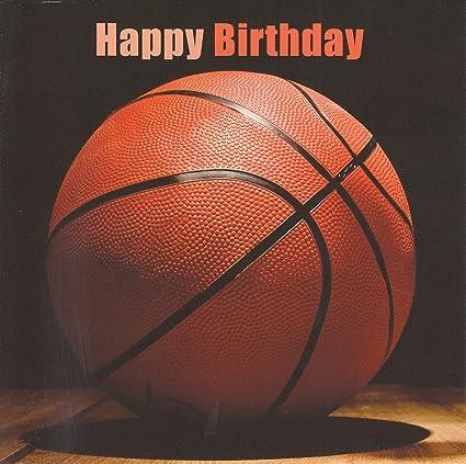 Baloncesto Tarjeta de cumpleaños por editorial Furtivo: Amazon.es ...