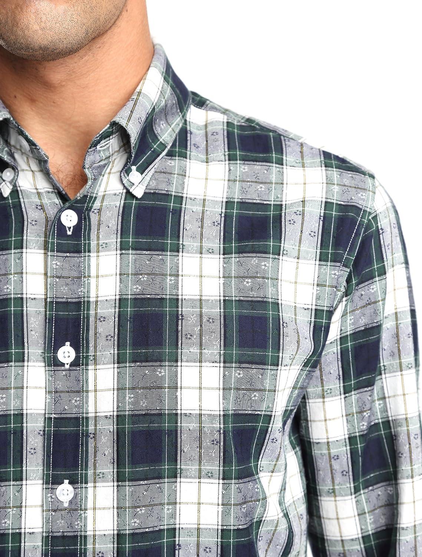 Caramelo, Camisa Semivestir Button Down con Tira para ...