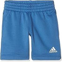 adidas YB Logo Pantalón Corto, Niños, Azul/Blanco, M