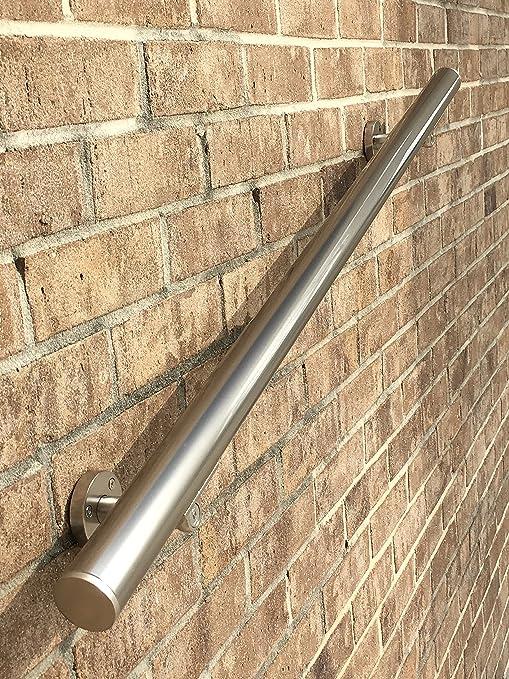 B52 anodizado aluminio para barandilla escalera Baranda Kit aspecto de acero inoxidable (6 ft) (6 ft): Amazon.es: Bricolaje y herramientas