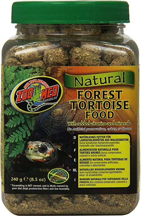 Top 9 Zoo Med Natural Forest Tortoise Food