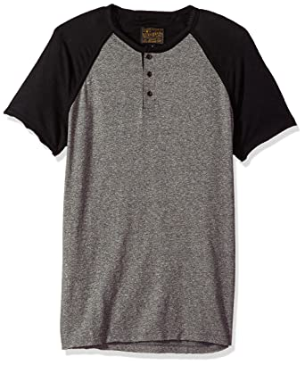 ef239b40 Lucky Brand Men's Baseball Henley Shirt at Amazon Men's Clothing store: