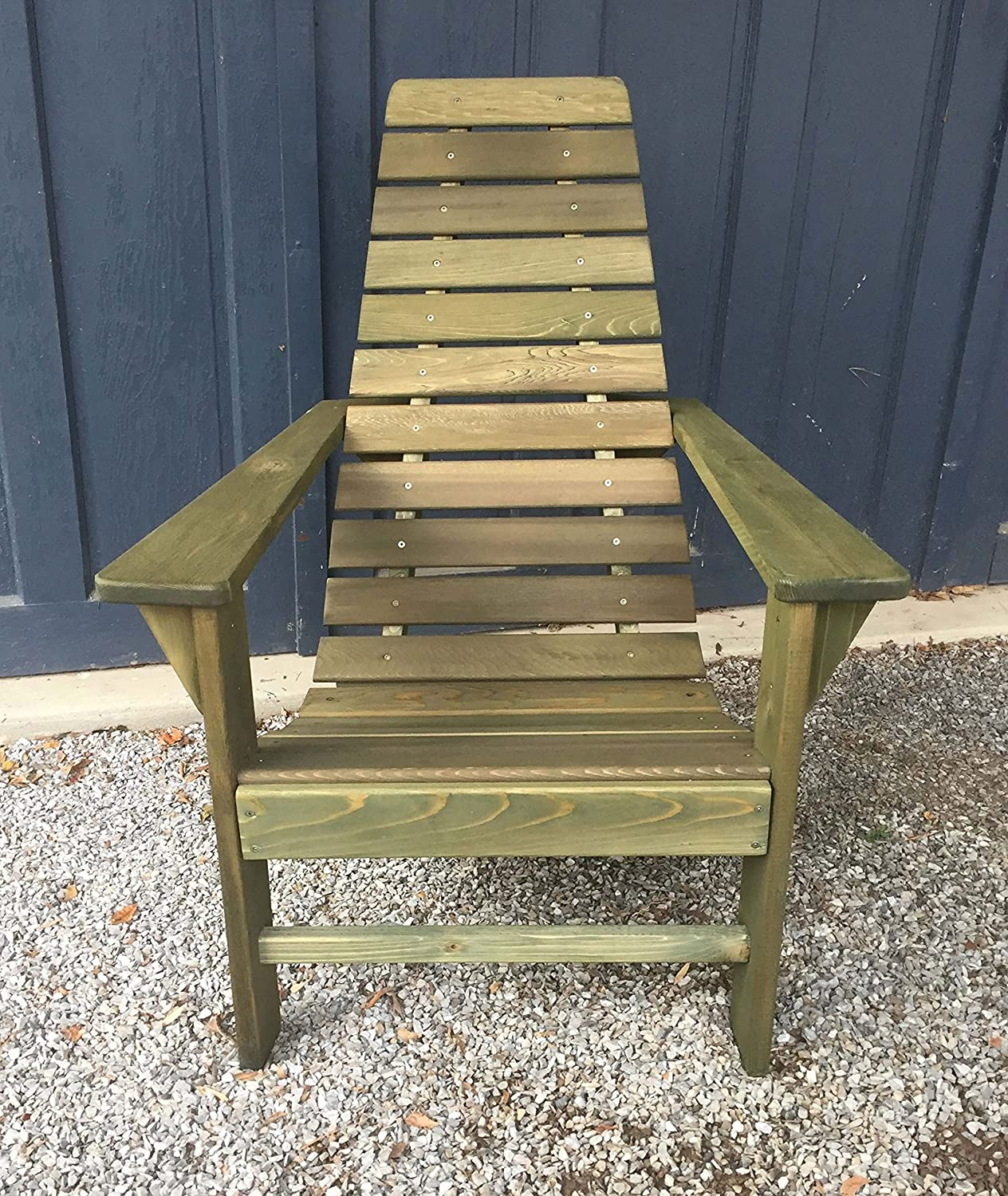 Cedar wood adirondack chair amish made outdoor chairs weather resistant wooden patio deck and porch outside furniture modern casual rustic style