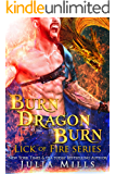Burn Dragon Burn: Lick of Fire (Dragon Guard Series Book 34)
