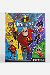 Disney Pixar - Incredibles 2 Look and Find - PI Kids Hardcover