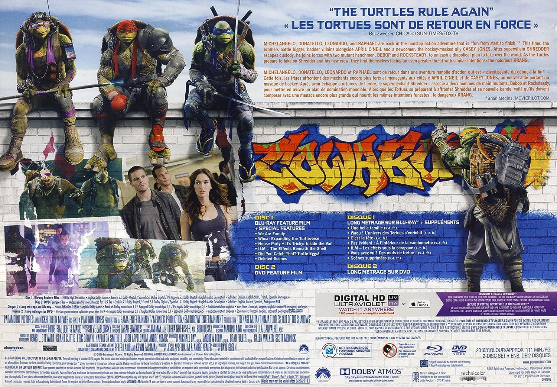 Amazon.com: Teenage Mutant Ninja Turtles: Out of the Shadow ...