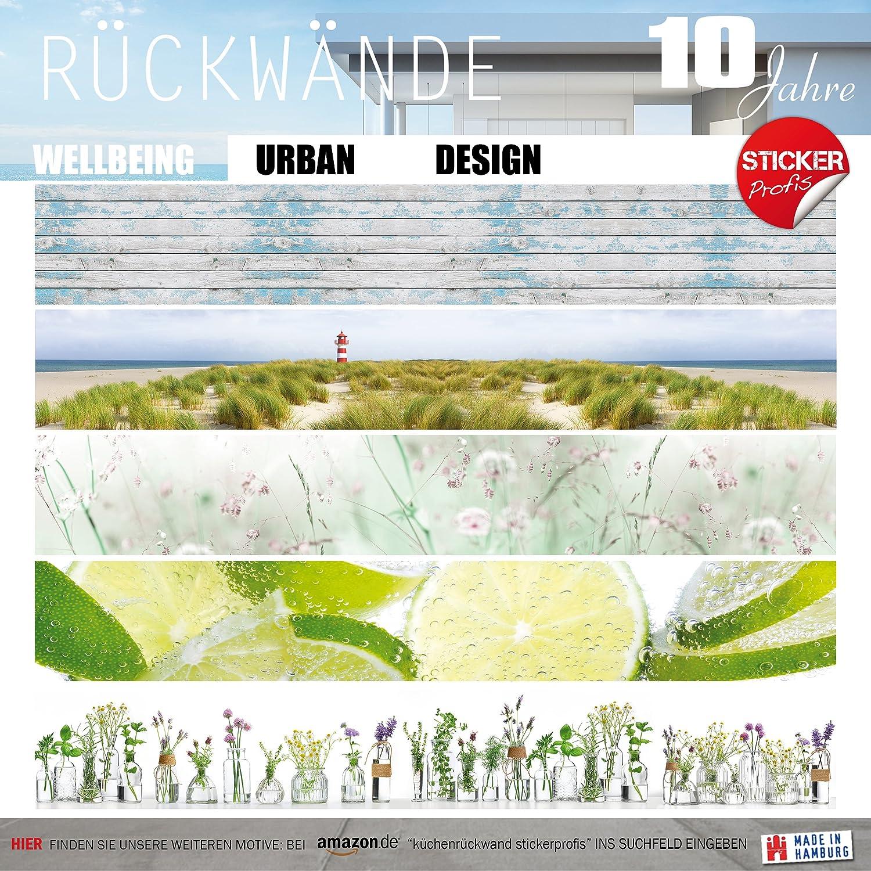 StickerProfis Küchenrückwand selbstklebend Premium STEINWAND Design 60 x 400cm 400cm 400cm DIY - Do It Yourself PVC Spritzschutz a5e2b5