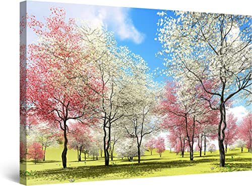 Startonight Canvas Wall Art Heaven Landscape Tree