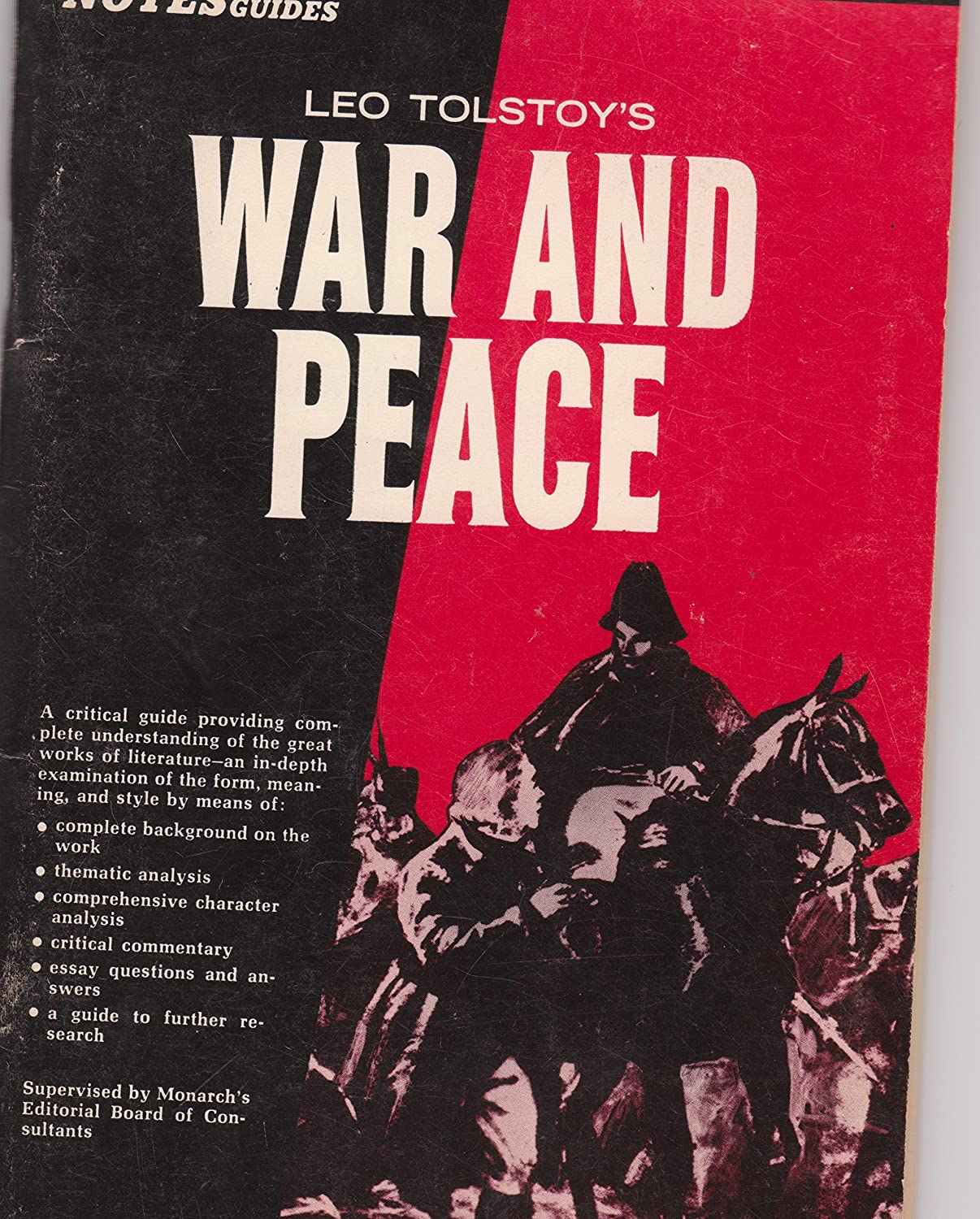 Example Of An Essay Paper Amazoncom  War And Peace Leo Tolstoy Scholastic Library  Edition With  Bonus Monarch Notes  Everything Else Buy Essay Papers Online also Essay For Students Of High School Amazoncom  War And Peace Leo Tolstoy Scholastic Library   Argumentative Essay High School