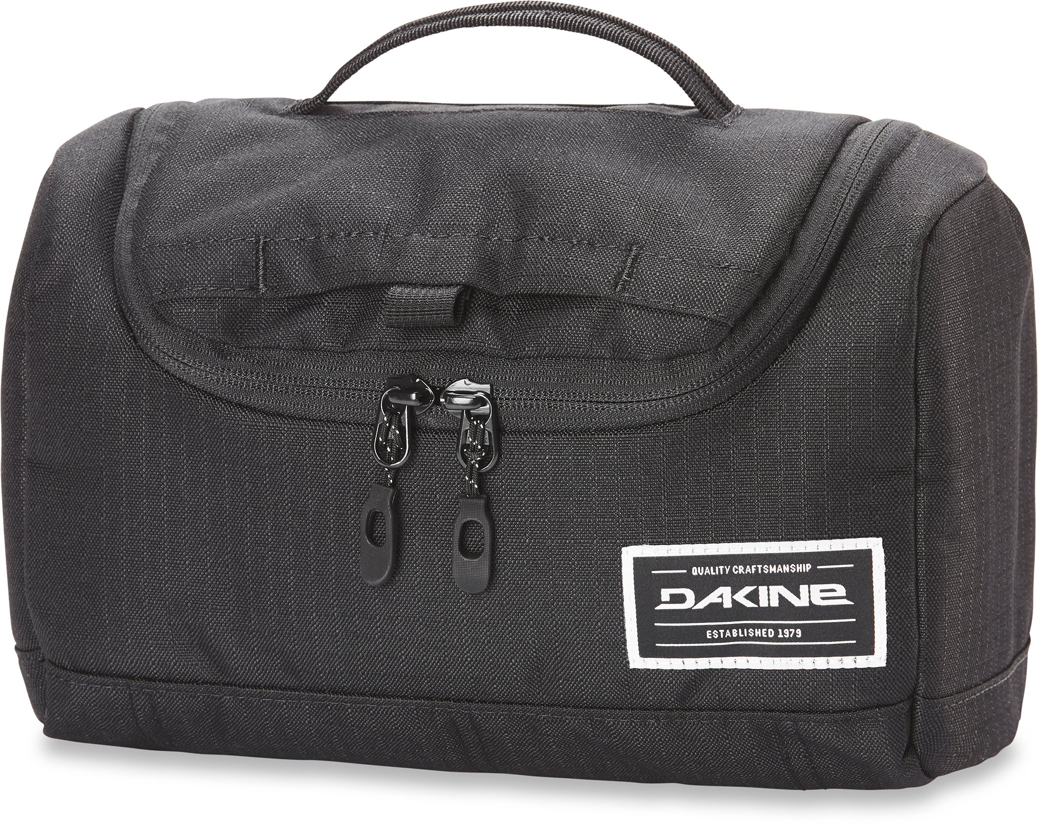 Dakine Unisex Revival Kit Toiletry Dopp Kit, Large, Black