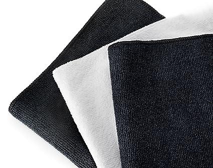 PREMIUM Paños de limpieza de toallas de microfibra de & - Excelente para pulir, SHINING