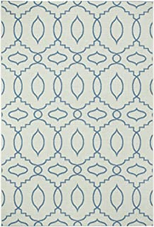 "product image for Capel Rugs Genevieve Gorder Elsinore Moor Rectangle Machine Woven Area Rug, 5' 3"" x 7' 6"", Blueberry"