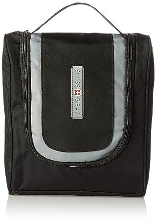 Amazon.com  Swiss Gear Hanging Toiletry Bag WJ6079 - Black 486683d741b15