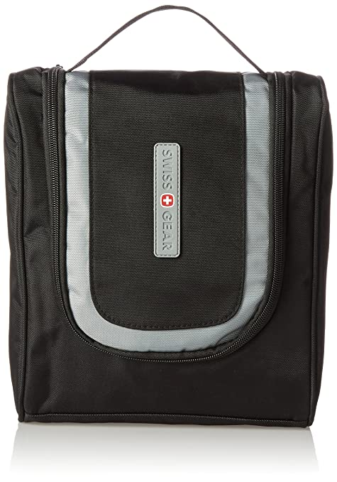 Swiss Gear Hanging Toiletry Bag WJ6079 - Black  Amazon.in  Bags ... 6263ed896b393