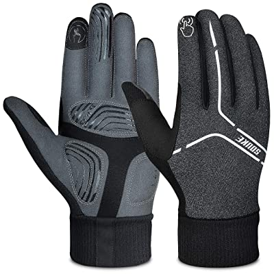 Cycling Protective Grip Sports Running Warm Gloves Men Women Touch Screen Phone