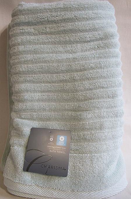 Charisma Bath Towels Unique Amazon Charisma New For 60 TexturedRibbed Towels Moonlight