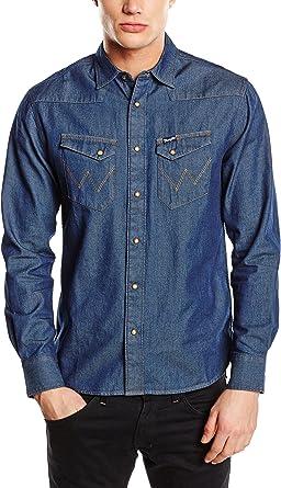Wrangler L/S Originals Shirt - Camisa de Mezclilla para ...