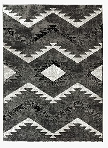 Rugs and Decor npt 79 5.2×7.2 Area Rugs, 5 .2 x 7 .2 , Grey