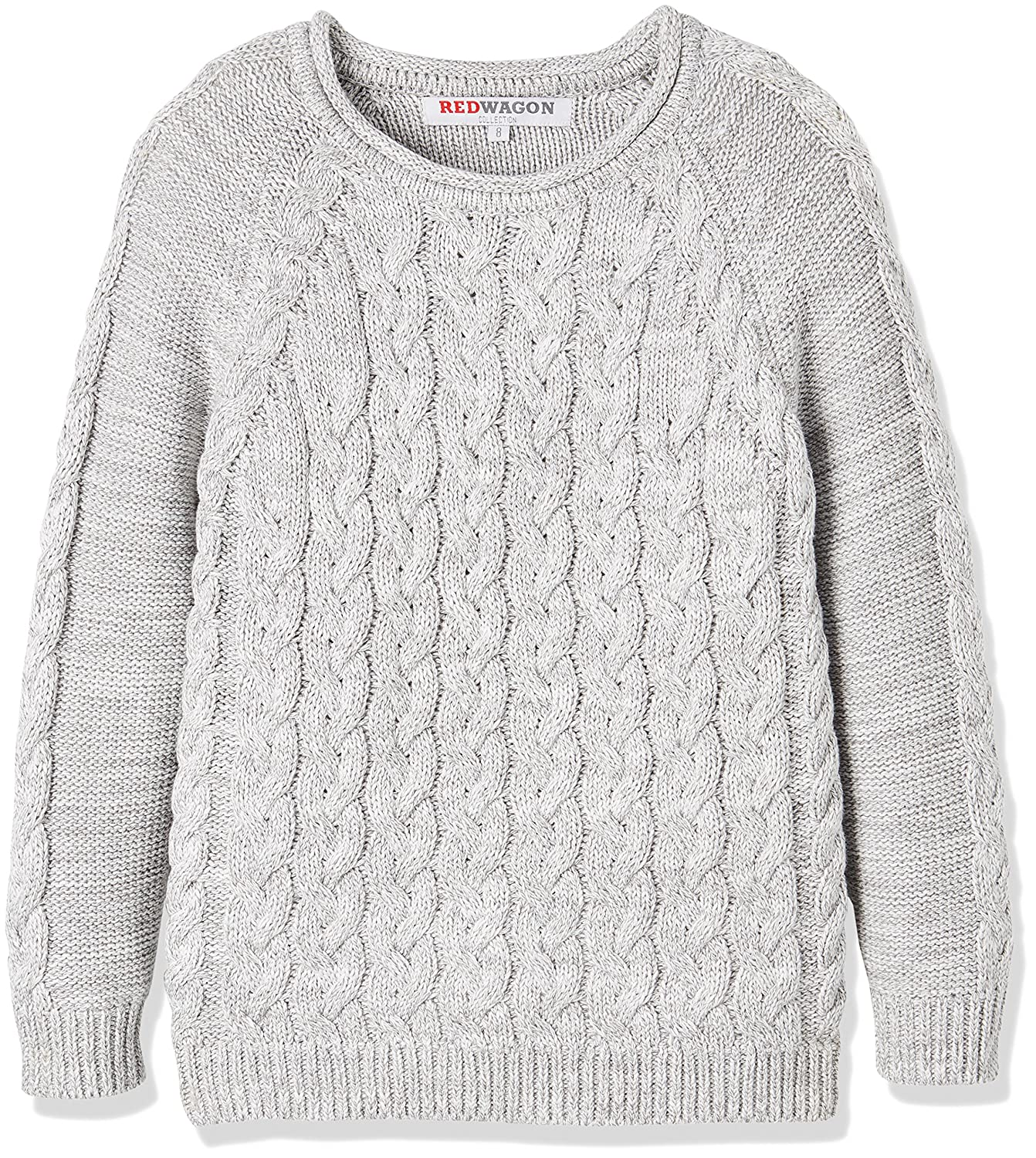 RED WAGON Boy's Cable Jumper Grey 4 Years 7350