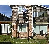 superb exterior house lights 4. Superb 5m DIY Aluminium Scaffold Tower + Pair Stabilisers (Zarges Tubesca First 5) Exterior House Lights 4 O