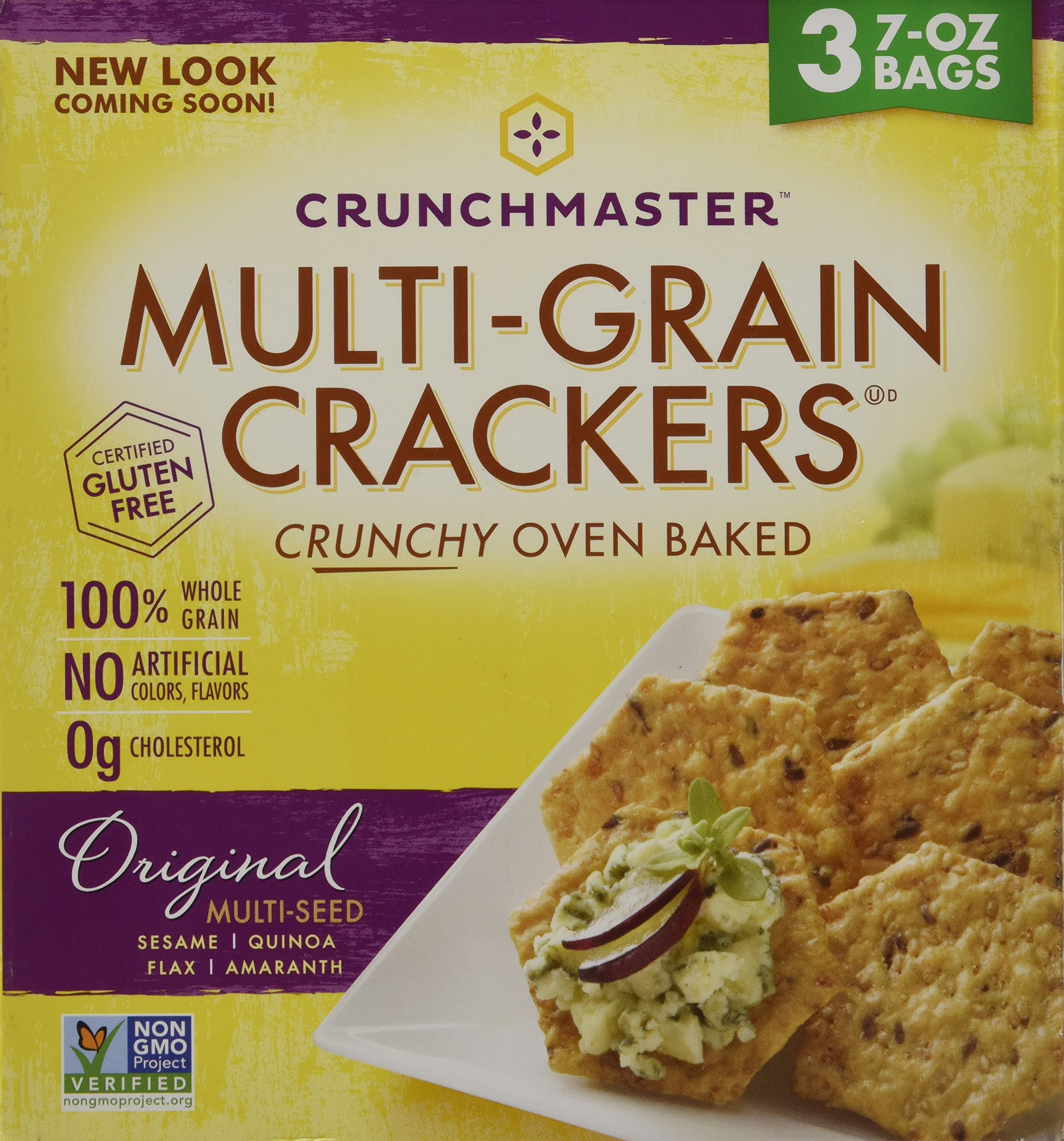 Crunchmaster Multi-Grain Crackers, 3 pk./7 oz. ( 1 BOX ) by Unknown (Image #6)