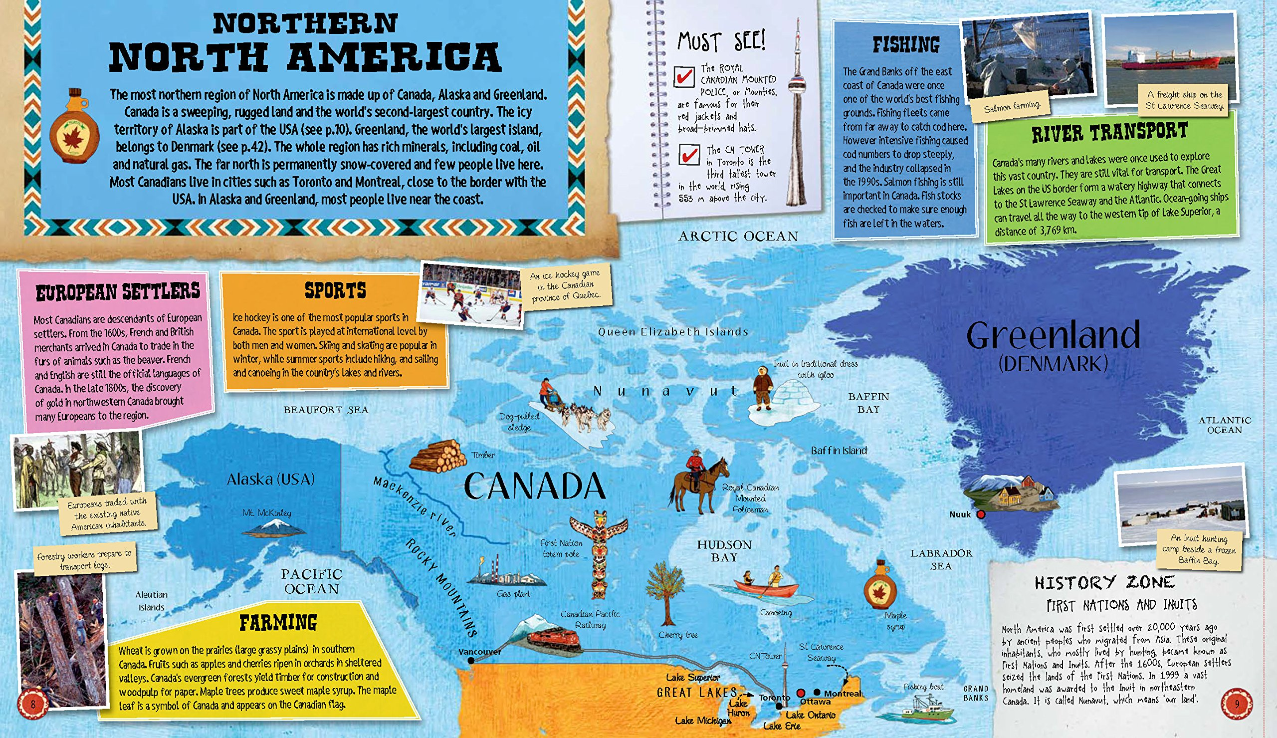 Barrons Amazing FactPacked FoldOut Atlas of the World With