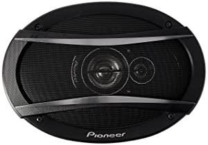 Pioneer TS-A6976R a-Series 6 Inch X 9 Inch 550W 3-Way Speakers