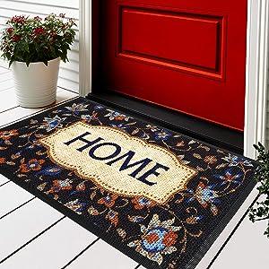 Welcome Mats for Front Door - Exclusive Door Mat - Door Mats for Home Entrance Outdoor - 30x18 Welcome Mat - Front Door Mat - Indoor Door Mat - Outdoor Mat - Spring Doormat