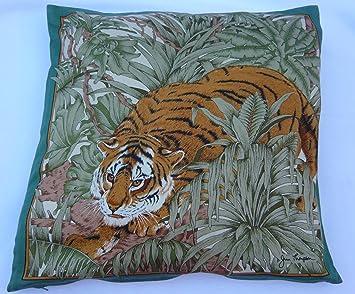 Amazon.com: Jim Thompson decorativos funda de almohada tigre ...