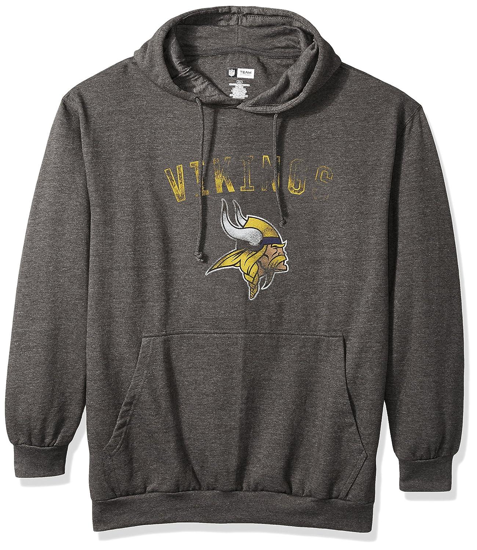 NFL mens Vikings Pullover Hood W Crew