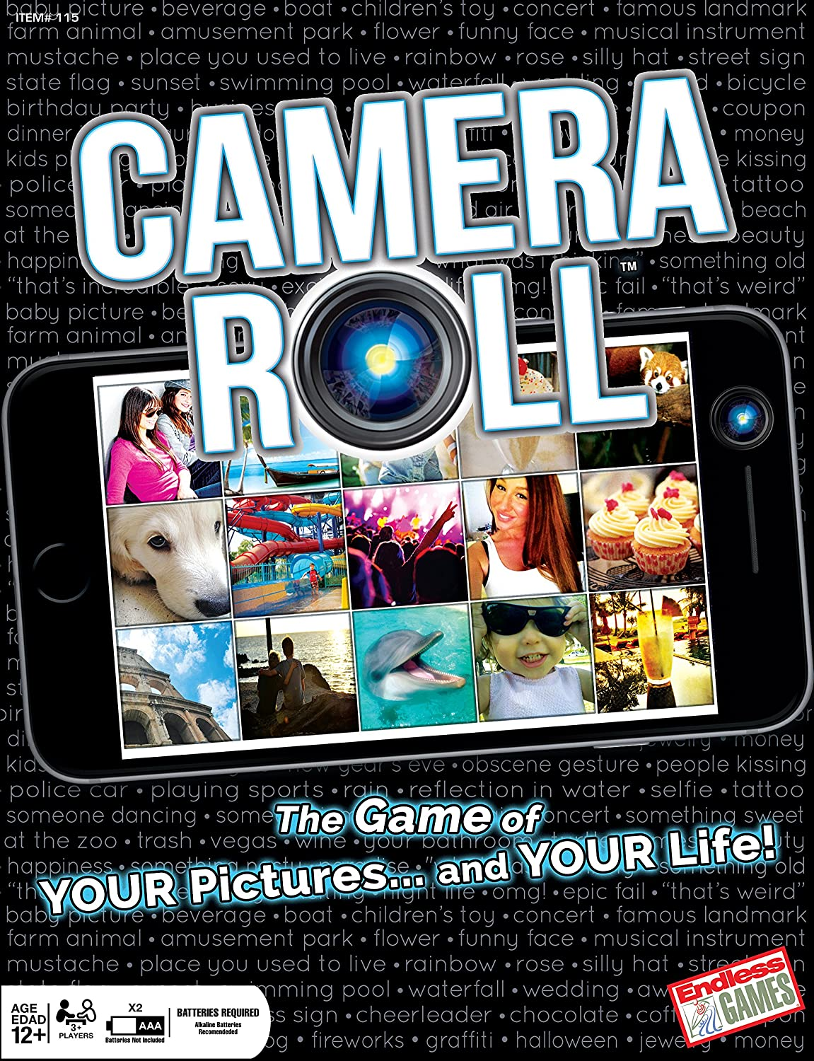 Amazon.com: Camera Roll-The Game of Your Pictures and Your Life ...