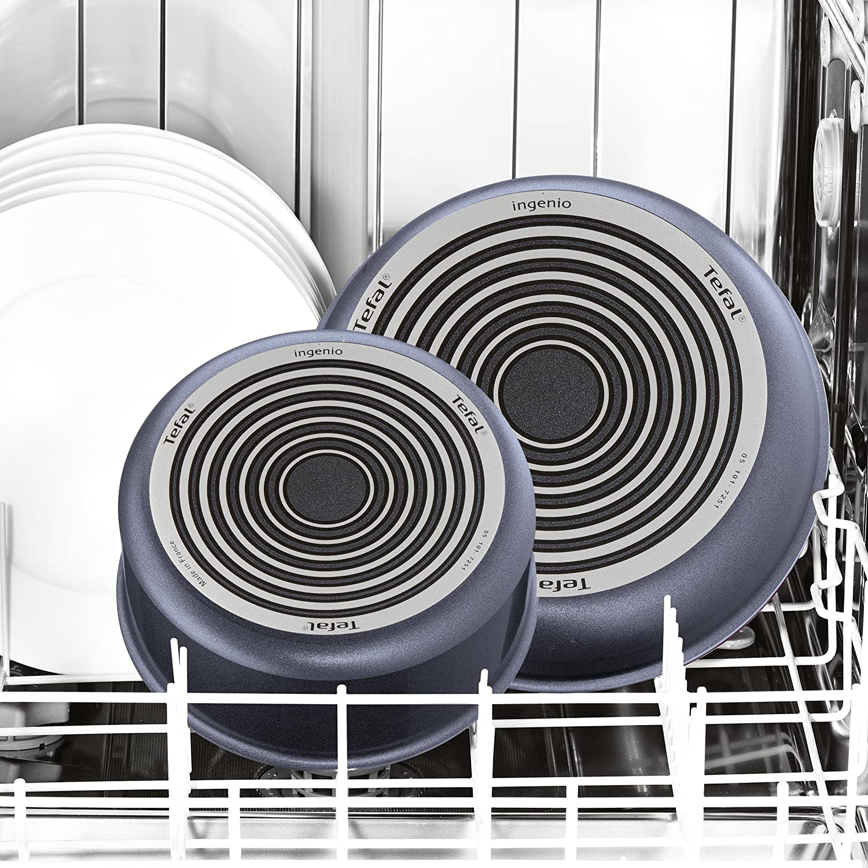Tefal l2310702 Ingenio Elegance sartén, Aluminio, Gris, 30 cm