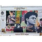 Grow - Harry Potter Quebra-Cabeça 1000 Peças, Multicolorido, (Grow 3617)