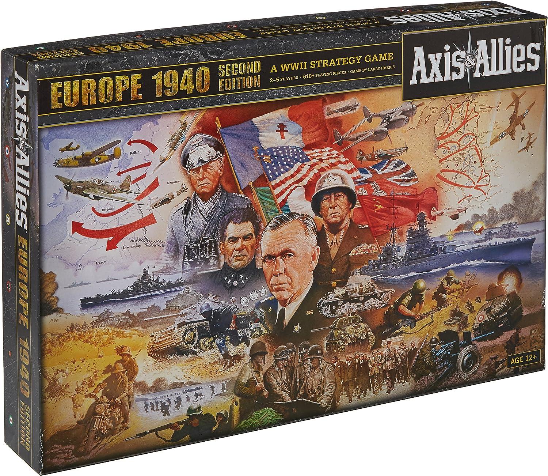 Axis & Allies Europe 1940 - Juego de Mesa (Contenido en inglés): Axis & Allies Europe 1940 2nd Edition: Amazon.es: Juguetes y juegos