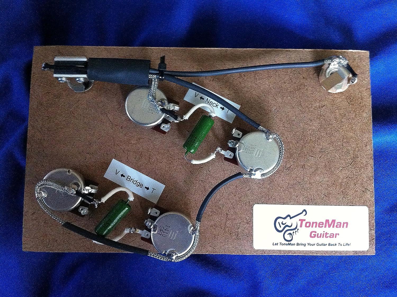 amazon com es335 gibson epiphone prebuilt wiring harness pio k42y