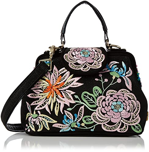 Womens Flounder Top-Handle Bag Black (Black) Irregular Choice bgchb