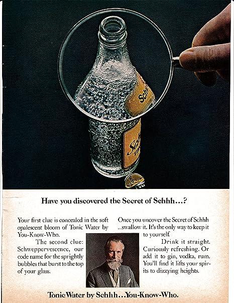 Amazon.com : 1971 Schweppes Commander Edward Whitehead Secret of ...