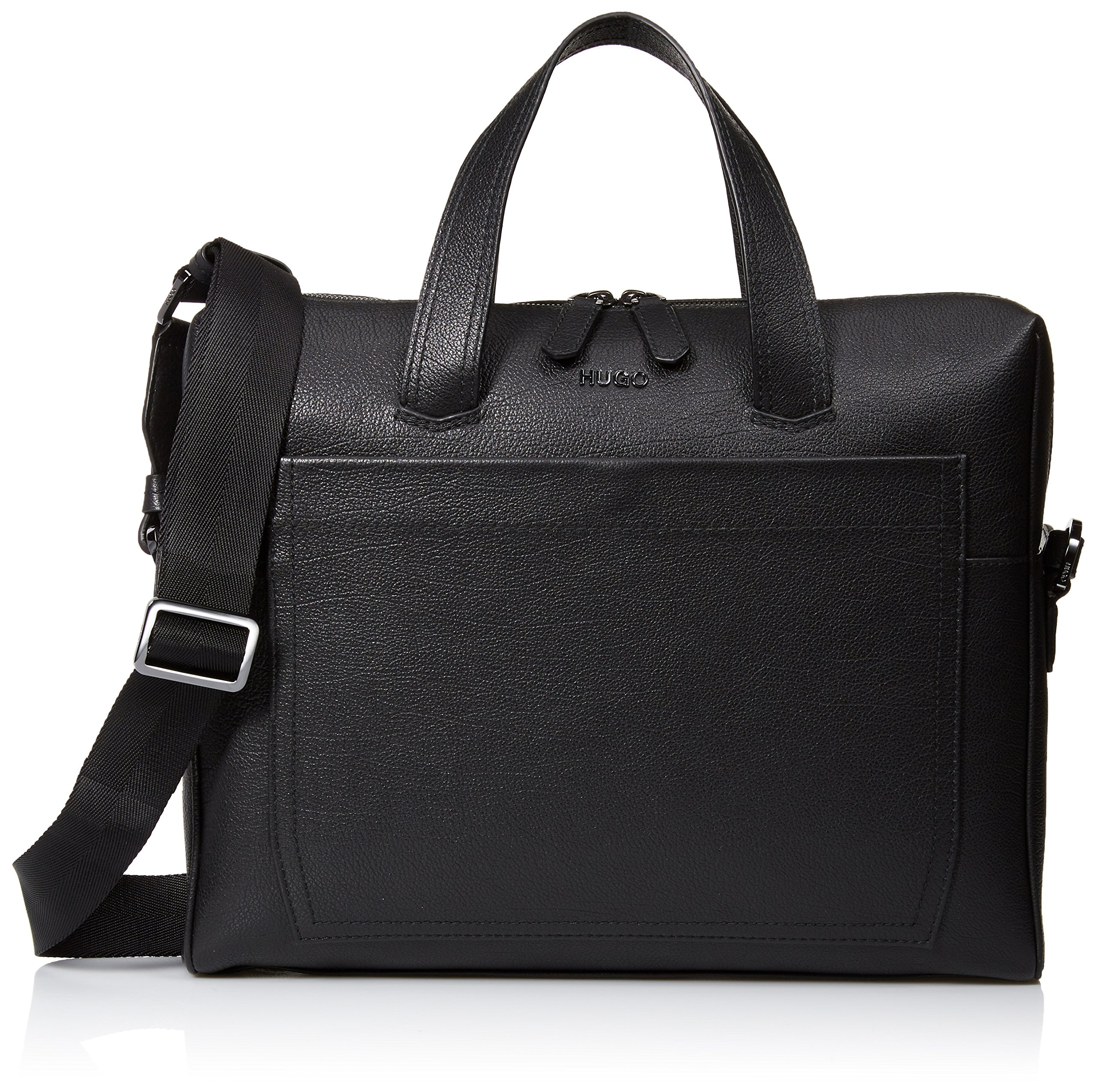 BOSS Hugo Boss Men's Twin Leather Document Case