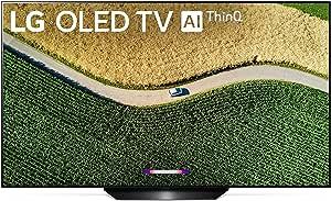 شاشة تلفزيون او ليد ذكية بدقة الترا اتش دي 4 كيه بمقاس 55 بوصة من السلسلة بي 9 موديل OLED55B9PUA من ال جي، اصدار 2019