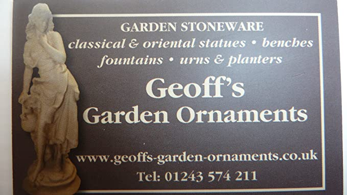 Ornate Stone Boy And Girl Ornament Figurines: Amazon.co.uk: Garden U0026  Outdoors