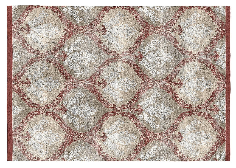 Teppich Shaggy & Rugs Kelpie Dekorative Prägung Digital, Baumwolle, Beige, Caldera, 120 x 170 cm