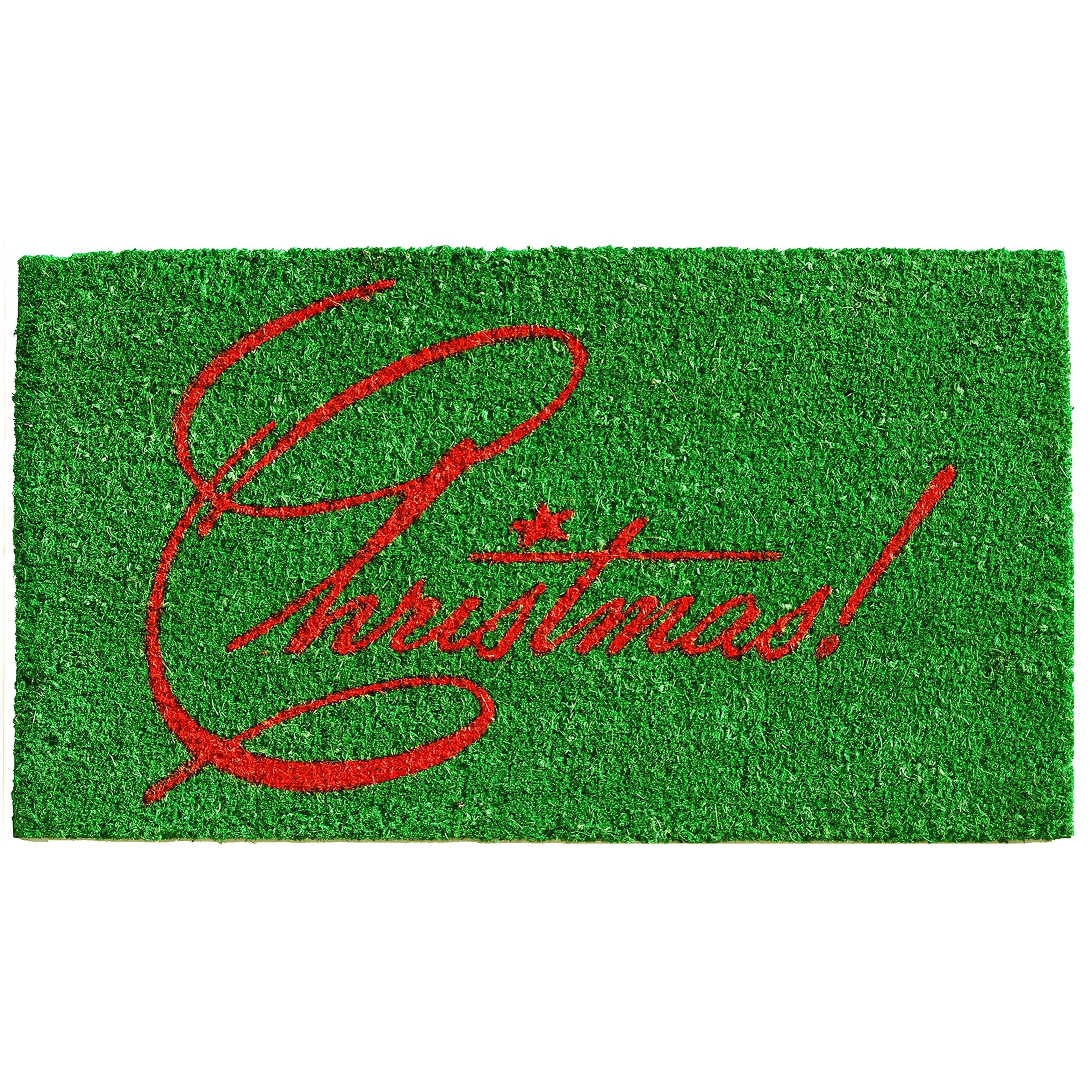 Home & More 121582436 Christmas Doormat, 24'' x 36'' x 0.60'', Multicolor